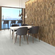 Natural Wood Split Face Tiles