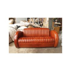 Canapé cuir club. Cuir de mouton. Leather sofa made in France. http ...