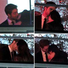 Robert Pattinson and Kristen Stewart Kissing Pictures