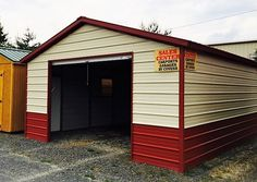 Don't pay $$$ thousands in storage fees-choose one of our classic portable buildings for storage, safety, privacy and easy access. #expresscarport #storage #buildings