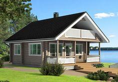 Сага - гостевой дачный дом по финской технологии.