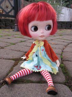 Harper a OOAK Custom Blythe Art Doll by BeBe Blythe