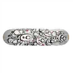 K2 Unit Abstract Deck Skate Board