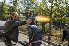 'The Walking Dead' Season 8 Spoilers: Will Simon Betray Negan? Steven Ogg On His 'TWD' Character Walking Dead Season 8, The Walking Dead 2, Walking Dead Tv Series, Chandler Riggs, Christian Serratos Instagram, Twd 7, Big Battle, The Day Will Come, Scene Photo