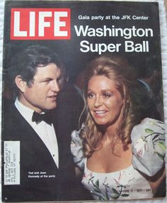 ted + joan kennedy // life magazine // june 1971