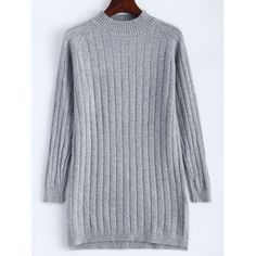 SHARE & Get it FREE   Ribbed Long Knitted SweaterFor Fashion Lovers only:80,000+ Items·FREE SHIPPING Join Dresslily: Get YOUR $50 NOW!
