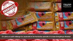 Nouvelle barre Mulebar - Cacahuètes et Framboise
