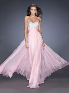 Pretty A-line Sweetheart Beadings Chiffon Prom Dress PD1287 www.homecomingstore.com $229.0000