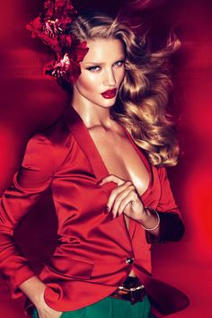 UK Vogue March 2011 | Rosie Huntington-Whiteley | Mert Alas & Marcus Piggott