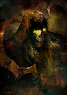 Death Disciples II fan art by SvetoslavPetrov.deviantart.com on @DeviantArt