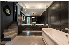 Cool #Bathroom   Photograph Simon Harvey   Balance Design  Paula Gowar   http://www.balancedesign.co.uk/