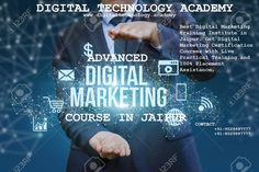 Best Digital Marketing training Institute in Jaipur. Get Digital Marketing Certification Courses with Live Practical Training and Placement Assistance. Seo Training, Marketing Training, Marketing Institute, Digital Technology, Housewife, Jaipur, Internet Marketing, Digital Marketing, Students