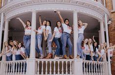 Hi ladies! Welcome to AXO Syracuse's home!! #alphachiomega #axo #achio #recruitment #cute #trendy #sorority #sororityapparel #tslnation Sorority Canvas, Sorority Paddles, Sorority Crafts, Chi Omega Recruitment, Sorority Recruitment Outfits, Sorority Big Little, Alpha Chi Omega, First Round, Greek Life