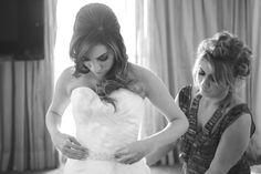 Making of da noiva - Decoração colorida para casamento