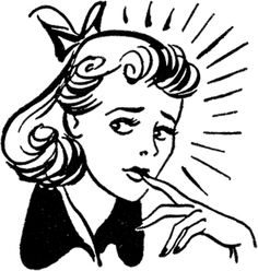 - The Graphics Fairy - This is a Retro Nervous Lady Image! Featured here is a lady who looks a bit on edge, stress or nerves, is what it looks like to me. Images Vintage, Retro Images, Retro Pics, Vintage Embroidery, Embroidery Patterns, Graphics Fairy, Free Graphics, Vector Graphics, Lazy Daisy Stitch