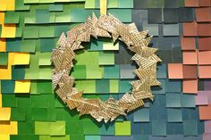 Contemporary, Faceted Wreath