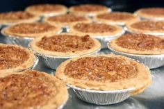 My hubby always liked to buy the little pecan pies, now I can make them for him.