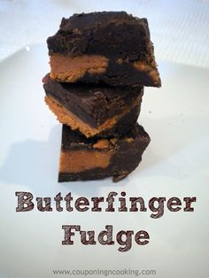 Couponing & Cooking: Butterfinger Fudge