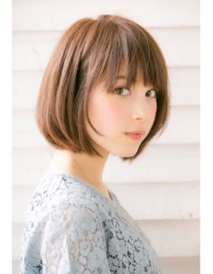 ドライブフォーガーデン(drive for garden) 【GARDEN/drive for garden】 スタイリング簡単愛されボブ☆ Girl Short Hair, Short Hair Cuts, Short Bob Hairstyles, Girl Hairstyles, Medium Hair Styles, Short Hair Styles, Japanese Hairstyle, Korean Short Hairstyle, About Hair