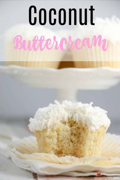 Coconut Buttercream Frosting Coconut Buttercream Frosting Cupcake Project cupcakeproject Coconut Cupcakes Coconut Buttercream Frosting Recipe Easy fluffy coconut frosting made with powdered nbsp hellip Cupcake Coconut Buttercream Frosting Recipe, Coconut Frosting, Coconut Cupcakes, Frosting Recipes, Cupcake Recipes, Baking Recipes, Dessert Recipes, Desserts, Cupcake Frosting