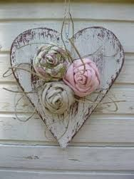 Image result for wooden hearts for crafts