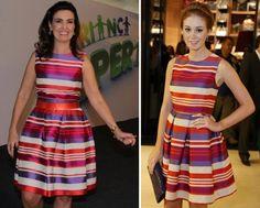 Marina Ruy Barbosa e Fátima Bernardes usam mesmo vestido nesta semana   Notas OMG - Yahoo! OMG! Brasil.´´FÁTIMA E MARINA POSSUEM O MESMO BOM GOSTO´´
