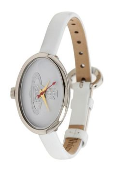 Vivienne Westwood Medal Watch (White) Watches - Vivienne Westwood, Medal Watch, VV019WH, Jewelry Watches General, Watches, Watches, Jewelry, Gift, - Street Fashion And Style Ideas