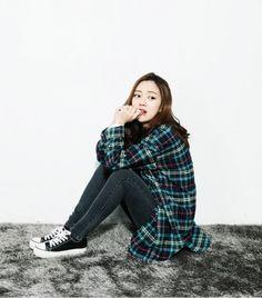 Korean street fashion style
