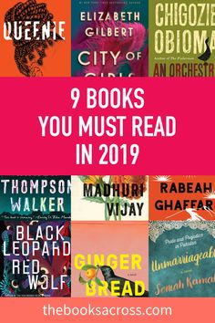 9 new Books You Must Read in 2019