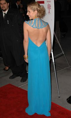 "Isn't Sarah Michelle Gellar just so gorgeous here? And you can totally see her curve, but who cares? I've never been brave enough to go backless (plus, I'm not a movie star & don't have to dress up for the red carpet) but this pic makes me think, ""Why not??!"""