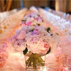 Gorgeous wedding peonies