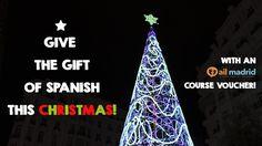 Purchase an #AIL Madrid #Language #Course #Voucherand give the #gift of #Spanishthis #Christmas! /// ¡Adquiere el Cupón #Curso de #AIL #Madrid y da el #regalo del #español estas #Navidades!