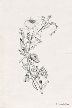 Nadezda Fava | WILDFLOWERS Ask a custom tattoo design…