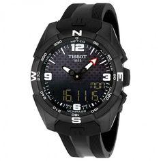 Tissot T-Touch Expert Solar Black Dial Men's Watch T0914204705701