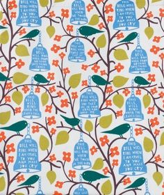 Rob Ryan Oil Cloth Available By The Meter – Bloomsbury Store