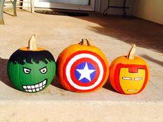Avenger Pumpkins
