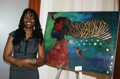 Tamara Natalie Madden is a Jamaican-born painter and mixed-media artist working and living in the United States. Madden's paintings are allegories whose subjects are the people of the African diaspora