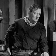 """John Wayne en """"El hombre que mató a Liberty Valance"""" (The Man Who Shot Liberty Valance), 1962"""