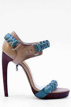 LaRare High Heeled Sandal Spring/Summer 2011 #Shoes #Heels