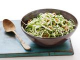 Green Apple-Truffle Slaw... truffle oil makes everything delicious