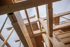 The timber system took the form of a glulam frame with visible grade CLT panels providing core stability to the walls and floors, which were to be left largely exposed within the finished structure.
