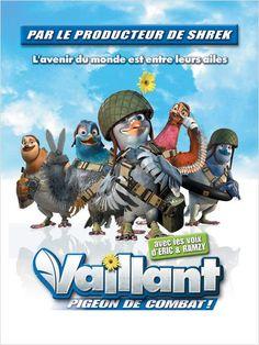 Vaillant, pigeon de combat ! : Un bon petit film bien sympa, surtout le passage avec les souris de la résistance.