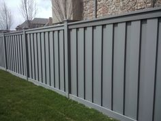 Wooden Fencing Contractors for More Affordable Options in London Cedar Fence, Wooden Fence, Post Box Grey, Fence Design, Wall Design, Fence Panels And Posts, Cedar Paneling, Grey Fences, Modern Farmhouse Exterior
