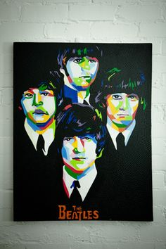 THE BEATLES Decoration, The Beatles, Artwork, Painting, Decor, Work Of Art, Auguste Rodin Artwork, Painting Art, Artworks