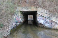 Tredegar Rd. tunnel in Jacksonville, AL.