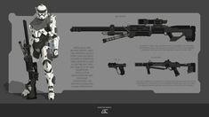 GC-Conceptart - Professional, Digital Artist | DeviantArt Republic Commando, I Just Love You, Big Guns, Black Dragon, Star Wars Clone Wars, Starcraft, Lists To Make, Space Marine, Mass Effect