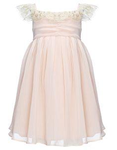 Baby Georgia Gold Lace Dress.                    I want it!