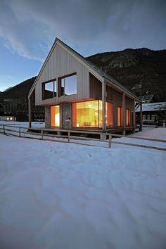6×11 Alpine Hut by OFIS Architects #architecture