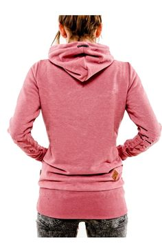Pink Hooded Long Sleeve Turtleneck Sweater . Free 3-7 days expedited shipping to U.S. Free first class word wide shipping. Customer service: help@moooh.net
