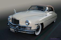 1950 Packard Convertible Victoria on display at Cars & Coffee, Irvine California Irvine California, Old Classic Cars, Cars And Coffee, Convertible, Victoria, Trucks, Horses, Vehicles, Vintage Cars